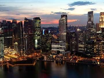 Dzielnica biznesowa w Singapurze (Singapur)