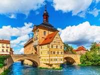 Stary Ratusz w Bambergu  (Niemcy)