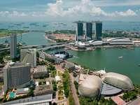 Nowoczesna architektura w Singapurze