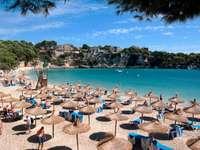 Plaża w Porto Cristo (Hiszpania)