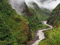 Bieg rzeki Pastaza (Ekwador)