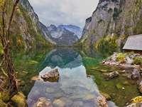 Jezioro Königssee w Alpach (Niemcy)