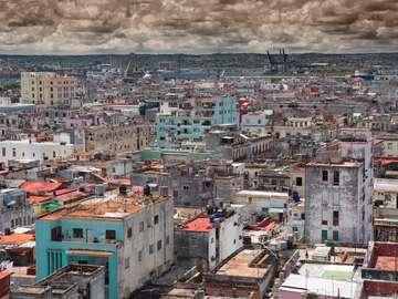 Uboga dzielnica Hawany (Kuba)