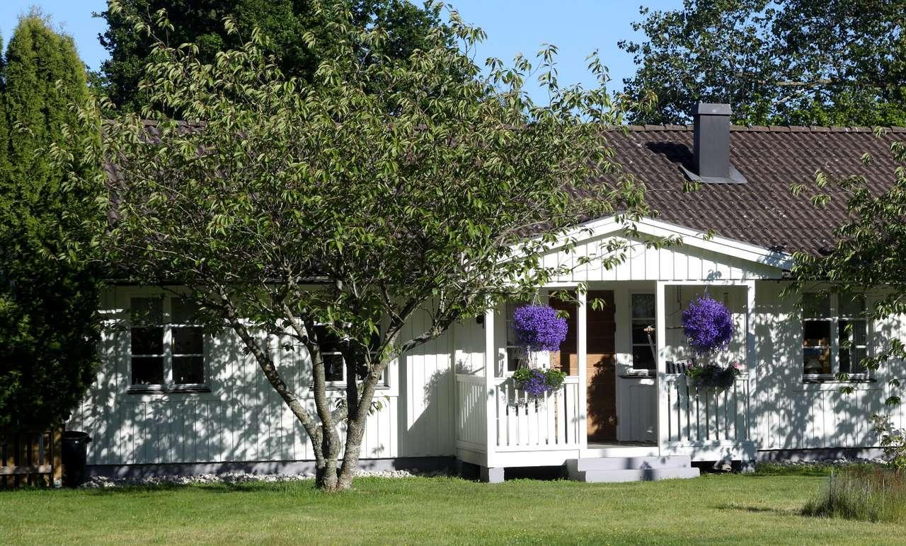 Domek w południowej Gotlandii (Szwecja)