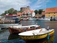 Przystań na Christiansø (Dania)