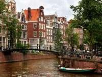 W Amsterdamie (Holandia)