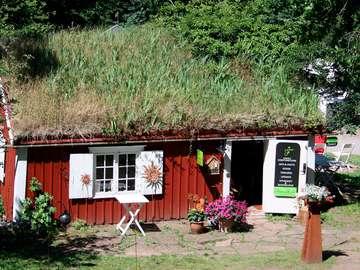 Sklep z pamiątkami w Borgholmie (Szwecja)