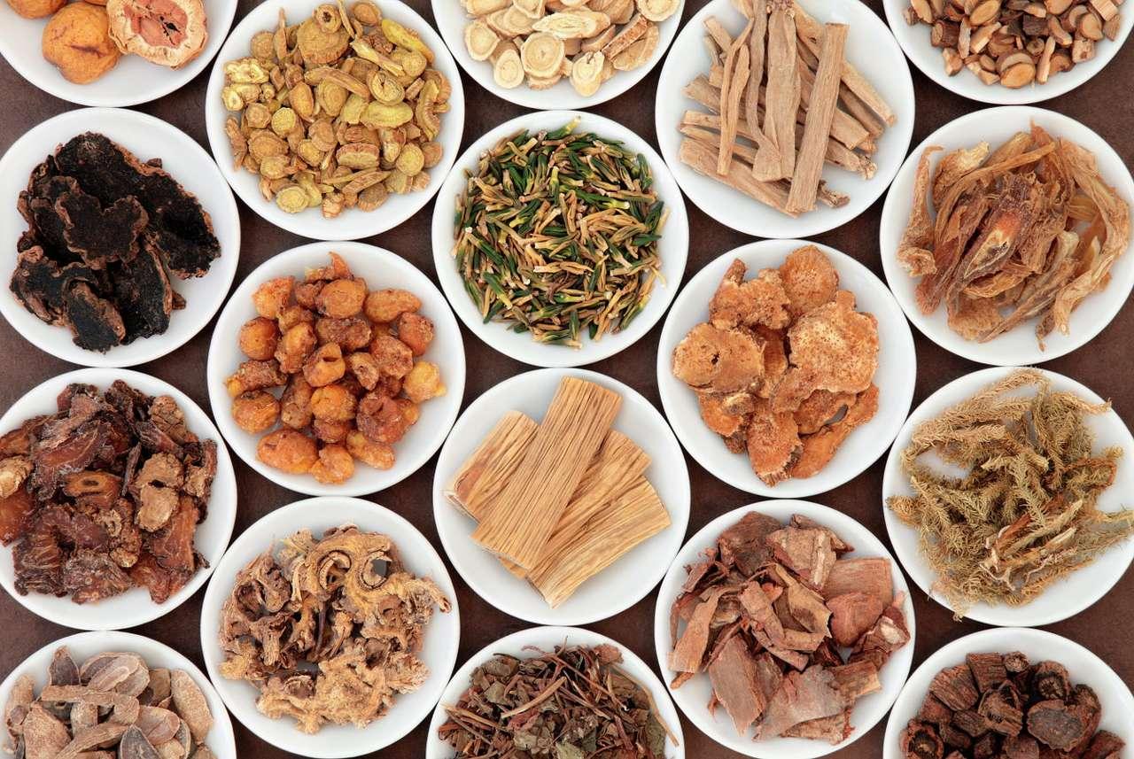 Rośliny wykorzystywane w chińskiej medycynie