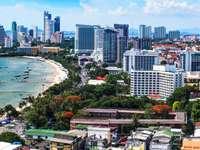 Panorama miasta Pattaya (Tajlandia)