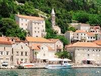 Miasto Perast (Czarnogóra)