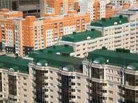 Osiedle mieszkalne w Astanie (Kazachstan) puzzle