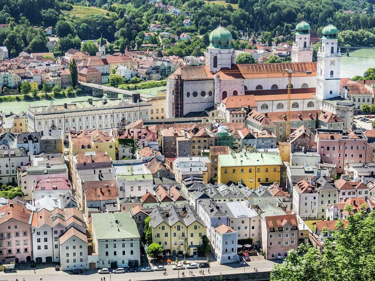 Panorama Pasawy (Niemcy)