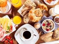Rozszerzone śniadanie kontynentalne