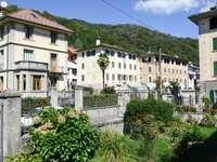 Kamienice w Civiasco (Włochy)