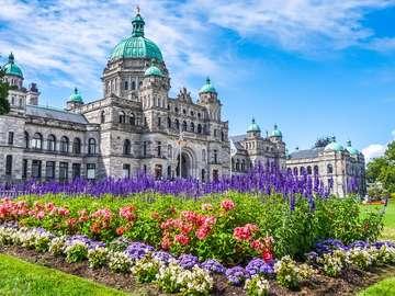 Budynek parlamentu w Victorii (Kanada)