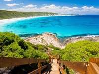 Punkt widokowy przy Great Ocean Road (Australia)