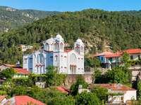 Kościół Świętego Krzyża w Pedoulas (Cypr) puzzle
