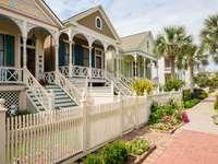 Wiktoriańskie domy w Galveston (USA)