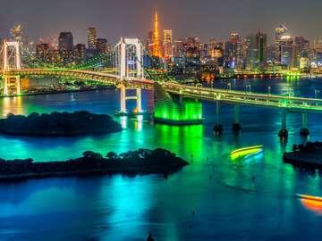Tęczowy Most w Tokio (Japonia)