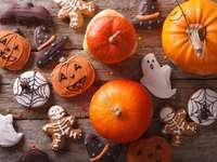 Dynie i pierniczki na Halloween