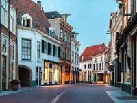 Uliczka w Zutphen (Holandia)