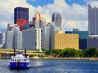 Wieżowce w mieście Pittsburgh (USA)