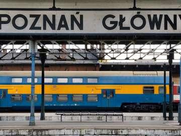 Dworzec w Poznaniu (Polska)
