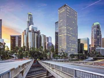 Wieżowce w Los Angeles (USA)