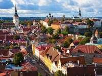 Stare Miasto w Tallinnie (Estonia)