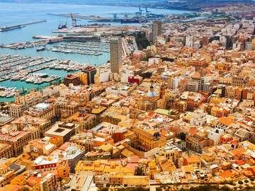 Port w Alicante (Hiszpania)