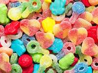 Żelki w cukrze