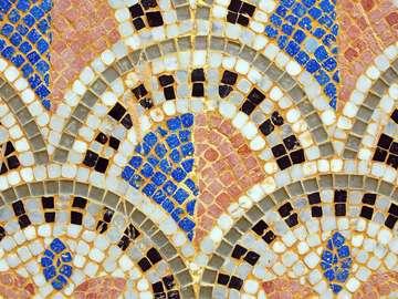 Mozaika z miasta Agadir (Maroko)