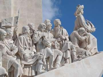 Pomnik Odkrywców w Lizbonie (Portugalia)