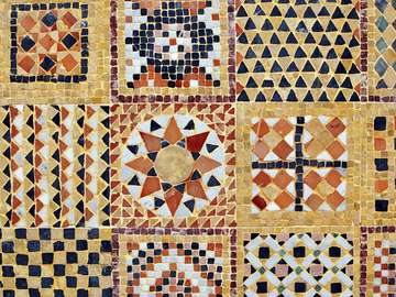 Mozaika z Maroka