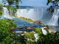Most przy wodospadzie Iguazú (Argentyna/Brazylia)