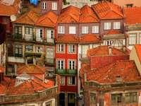 Stare domy w Porto (Portugalia)