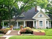 Amerykański dom jednorodzinny