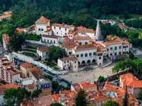 Pałac Narodowy w Sintrze (Portugalia)