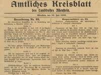 Rozporządzenie nr 22 Komisji Międzysojuszniczej