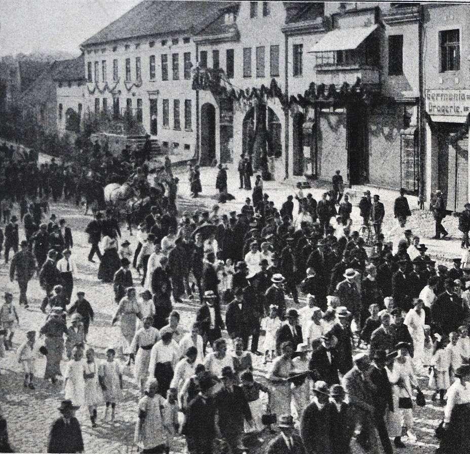 """""""Dzień Niemiecki"""" w Orzyszu."""