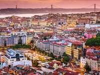 Panorama Lizbony (Portugalia)