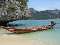 Plaża w Kambodży
