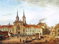 Przedwojenna Warszawa. Plac Krasińskich 1655