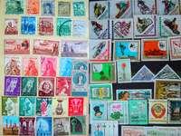 Znaczki, egipskie i węgierskie ;))