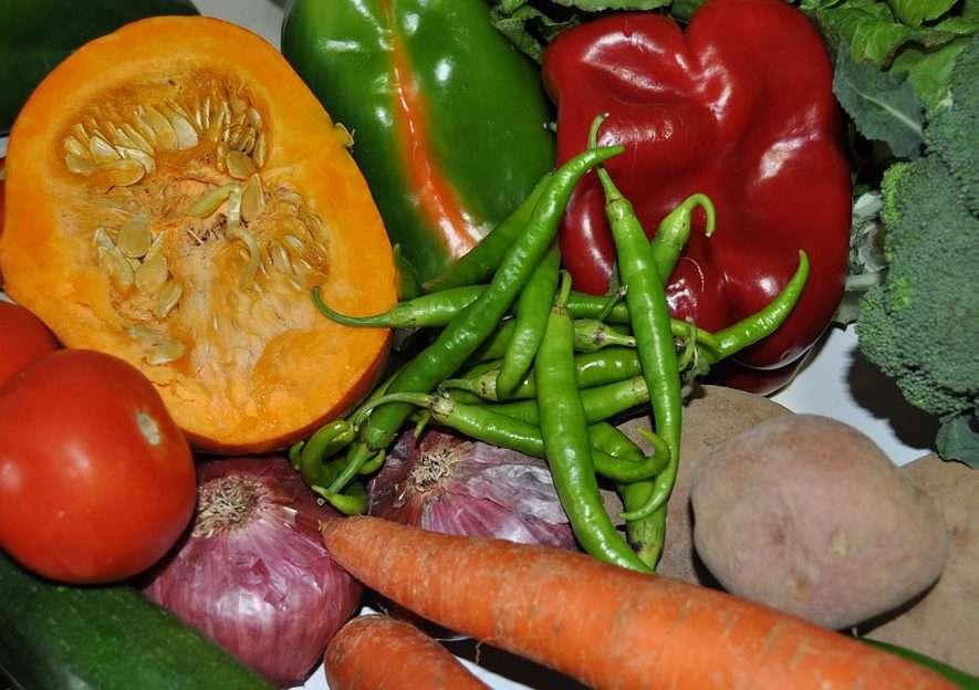 bodegon de verduras puzzle