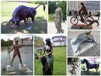 Rzeźby z brązu i nie tylko...