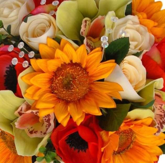 kwiaty puzzle ze zdjęcia