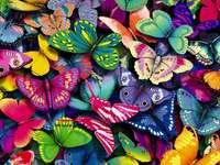 motyle puzzle