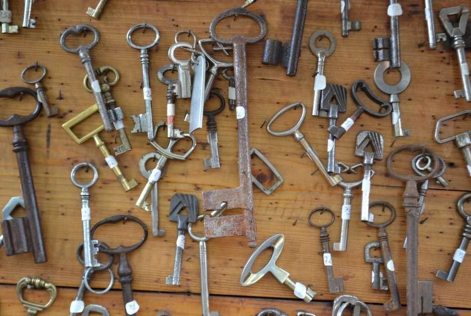 klucze puzzle