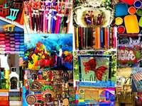 Collage kolorowy